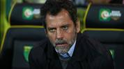 NORWICH, ENGLAND - NOVEMBER 08: Quique Sanchez Flores, manager of Watford looks on ahead of the Premier League match between Norwich City and Watford FC at Carrow Road on November 08, 2019 in Norwich, United Kingdom. (Photo by Naomi Baker/Getty Images)