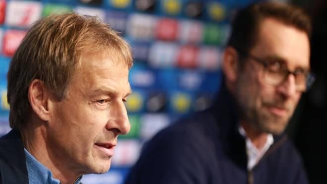 Jürgen Klinsmann war nur 76 Tage lang Trainer bei Hertha BSC