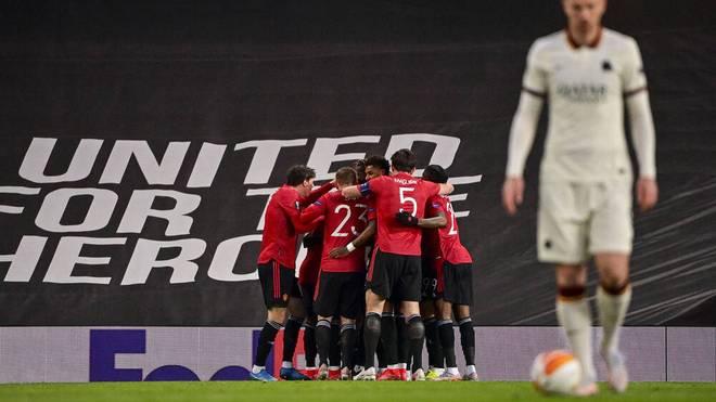 Manchester United gewinnt im Halbfinal-Hinspiel der Europa League deutlich mit 6:2 (1:2) gegen AS Rom.