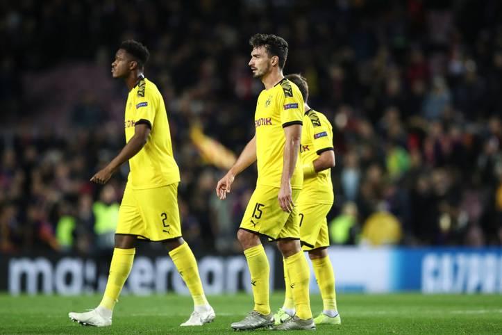 Ein Sieg gegen Slavia Prag ist Pflicht für Borussia Dortmund - aber selbst dann liegt das Weiterkommen in der Champions League nicht den Händen der Dortmunder