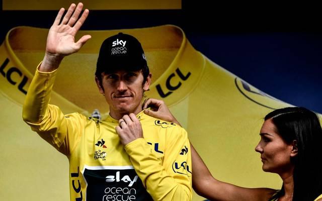 Geraint Thomas gewann 2018 die Tour de France