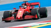 Ferrari's German driver Sebastian Vettel steers his car during the first practice session at the Austrian Formula One Grand Prix on July 3, 2020 in Spielberg, Austria. - Seven months after they last competed in earnest, the Formula One circus will push a post-lockdown re-set button to open the 2020 season in Austria on July 5. (Photo by Darko Bandic / POOL / AFP) (Photo by DARKO BANDIC/POOL/AFP via Getty Images)