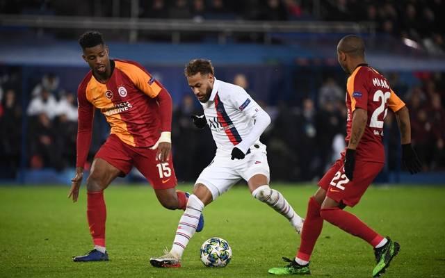 Beim CL-Spiel zwischen PSG und Galatasaray kam es vorher zu Auseinandersetzungen zwischen den Fans.