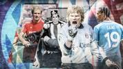 Leroy Sané soll der nächste sein: die bedeutenden Transfers des FC Bayern von Gerd Müller (2.v.l.) bis Oliver Kahn (3.v.l.)