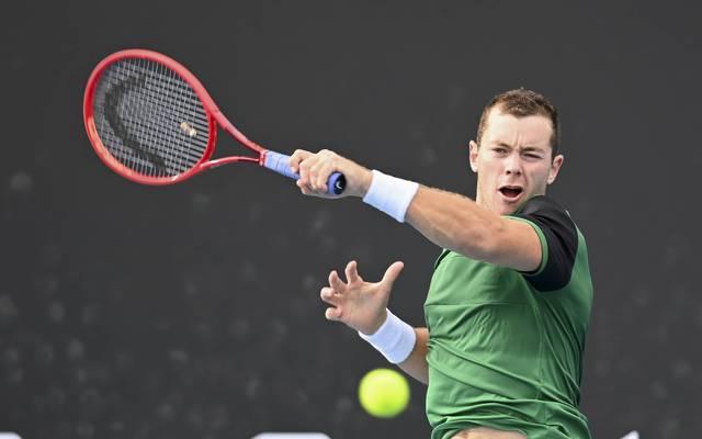 Dominik Koepfer ist bei den Australian Open ausgeschieden