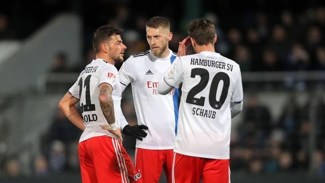 Tim Leibold (l.) ist neuer Kapitän des Hamburger SV
