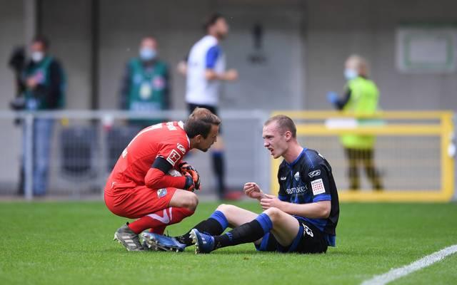 Der SC Paderborn am Boden: Der Bundesliga-Abstieg rückt immer näher
