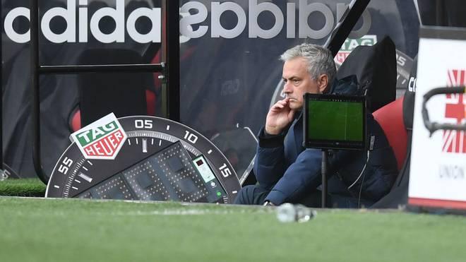 José Mourinho ärgerte sich über eine Entscheidung des Videoschiris