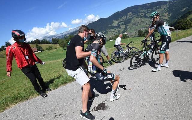 Emanuel Buchmann stürzte bei der Dauphiné