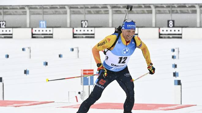 Erik Lesser feiert WM-Debüt in der Mixed-Staffel