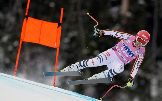 BEAVER CREEK, COLORADO - DECEMBER 07: Josef Ferstl of Germany competes on the Birds of Prey course during the Audi FIS Alpine Ski World Cup Men's Downhill on December 07, 2019 in Beaver Creek, Colorado. (Photo by Tom Pennington/Getty Images)