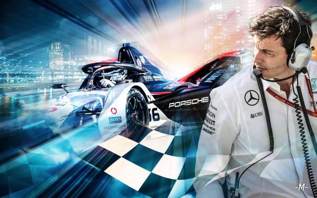 Toto Wolff nimmt mit Mercedes an der Formel E teil