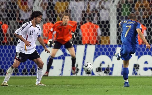 Bei der Heim-WM 2006 verlor Deutschland im Halbfinale gegen Italien