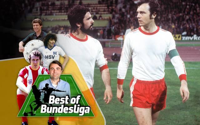 Franz Beckenbauer (r.) und Gerd Müller sind Ikonen des FC Bayern