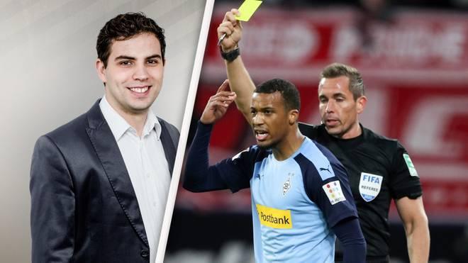 SPORT1-Redakteur und Schiedsrichter Jonas Nohe kann mit der neuen Gelb-Regel wenig anfangen
