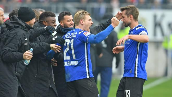 DSC Arminia Bielefeld v Hamburger SV - Second Bundesliga