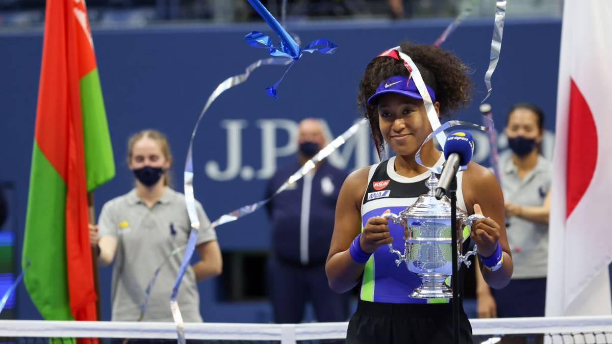 Sieg gegen Viktoria Azarenka: Naomi Osaka gewinnt zum zweiten Mal nach 2018 die US Open