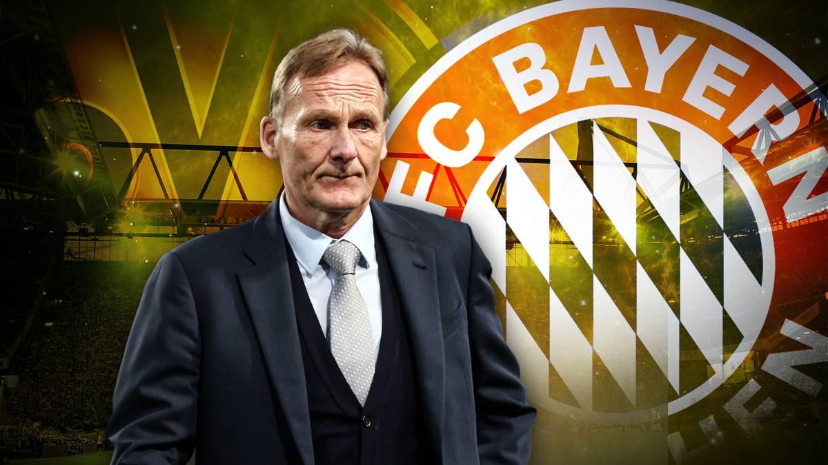 """Hans-Joachim Watzke sagte im Stahlwerk Doppelpass, dass der FC Bayern Borussia Dortmund im Meisterschaftsrennen """"ein Stück entgegenkommen"""" müsse. Macht Watzke den BVB damit zu klein?"""