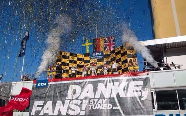 152.000 Zuschauer verfolgten das spannende DTM-Finale in Hockenheim