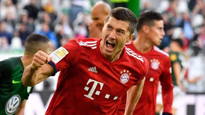 Bundesliga, FC Bayern München, VfL Wolfsburg, Robert Lewandowski