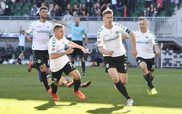 Fürth feiert nach drei Niederlagen wieder einen Sieg