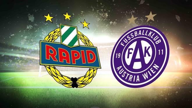 Wiener derby Rapid Wien Austria Wien Wenn sich Rapid Wien und die Wiener Austria im Derby gegenüberstehen, teilt sich die Stadt streng in grün und veilchenblau