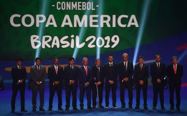 Die Copa America wird 2019 in Brasilien ausgetragen