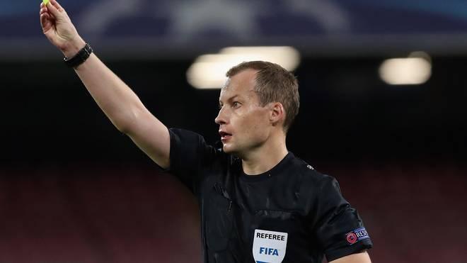 William Collum pfeift am Freitag Deutschland gegen Spanien