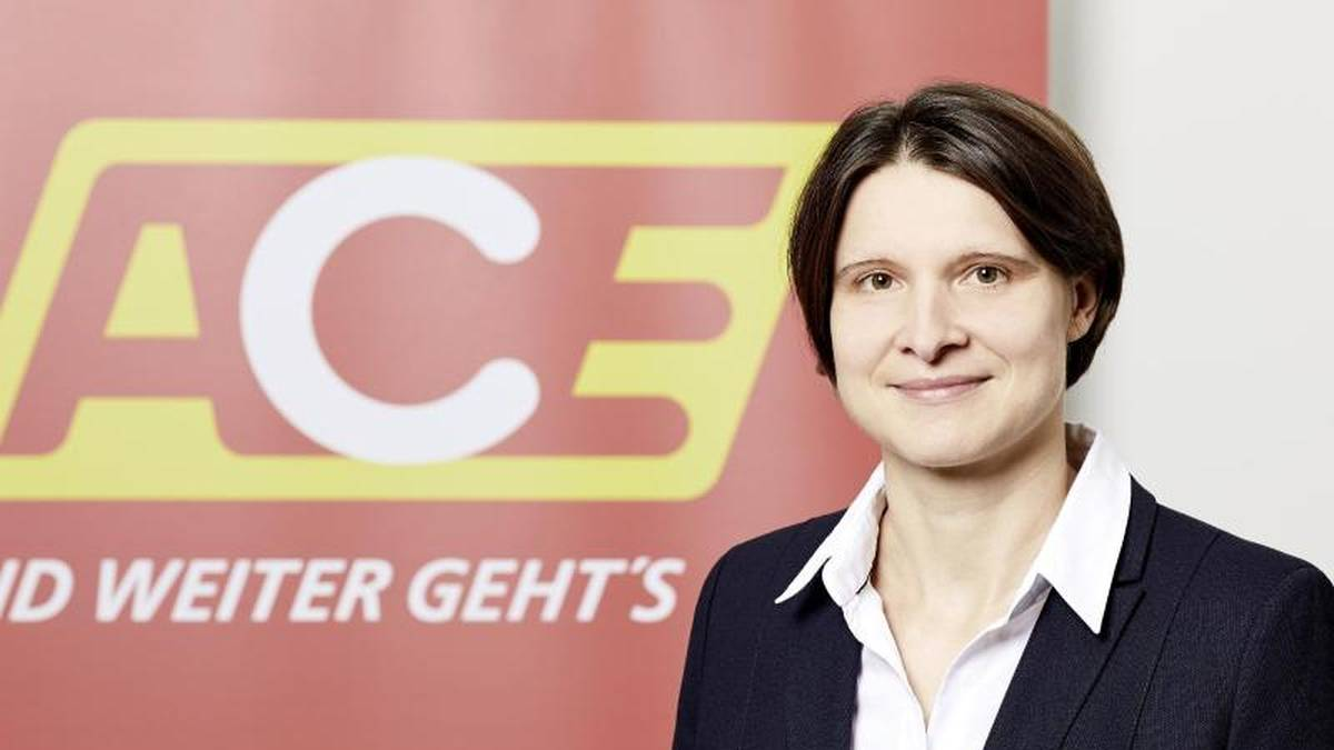 Romy Mothes vom Auto Club Europa (ACE)