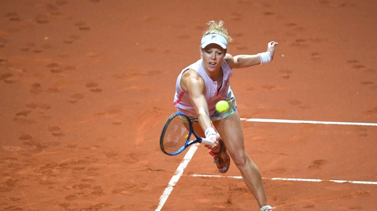 Laura Siegemund beim WTA-Turnier in Rom ausgeschieden
