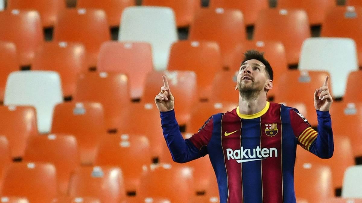 Messi hält Barca im Titelrennen