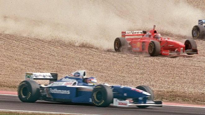 1997 gerieten Michael Schumacher und Jacques Villeneuve beim Saisonfinale aneinander