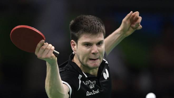 Dimitrij Ovtcharov setzte sich gegen Bojan Tokic durch