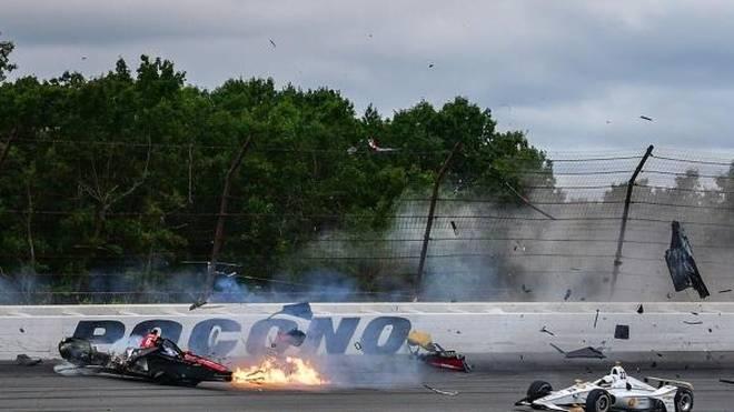 Robert Wickens muss nach dem Crash in Pocono operiert werden