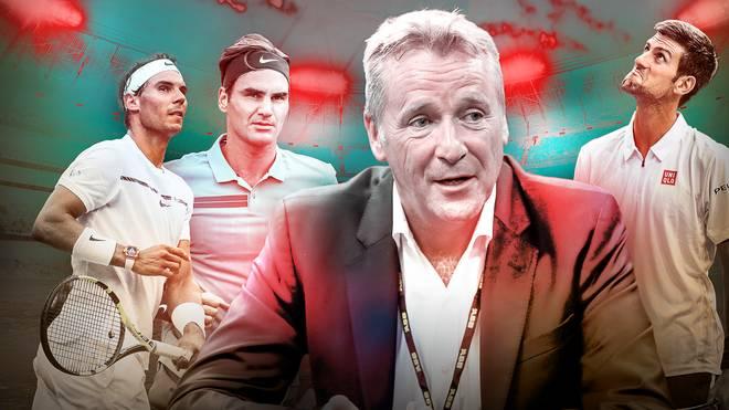 ATP-Machtkampf um Präsident Kermode: Djokovic vs. Federer & Nadal