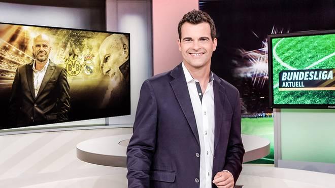 Oliver Schwesinger moderiert Bundesliga Aktuell