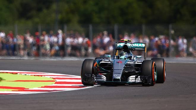 Nico Rosberg in Silverstone