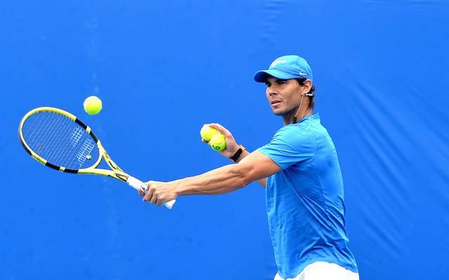 Australian Open: Rafael Nadal gibt Entwarnung - keine Schmerzen mehr, Rafael Nadal gibt seine Zusage für die Australian Open in Melbourne