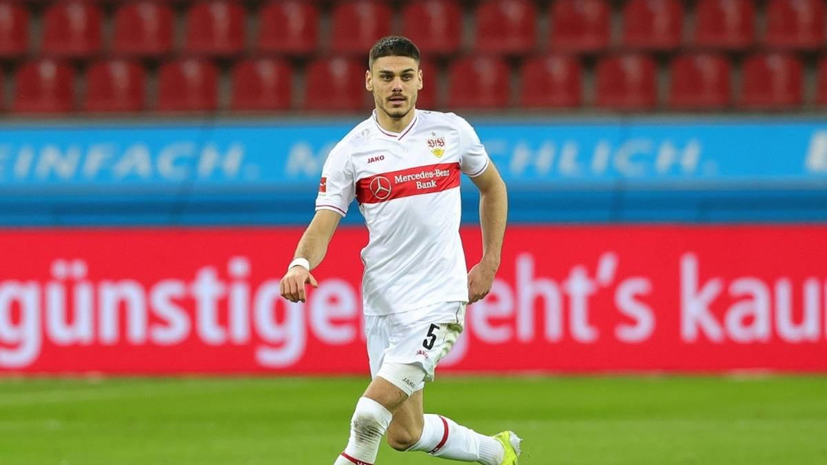 Konstantinos Mavropanos bleibt eine weitere Saison in Stuttgart