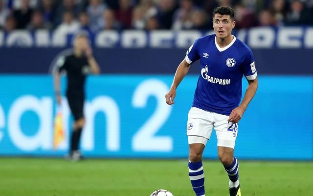 Champions League: Schalke 04 ohne Harit und Schöpf in Moskau   , Der Schalker Alessandro Schöpf erzielte gegen Mainz ein Tor