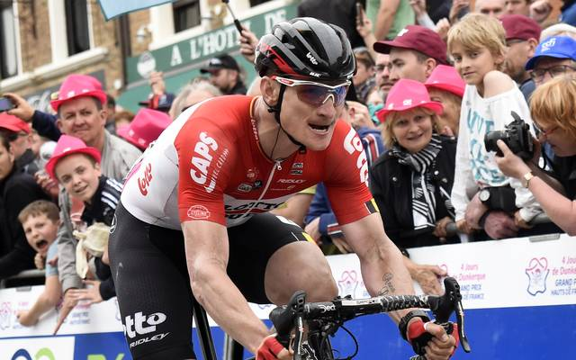 Andre Greipel bestritt sein letztes Rennen für Lotto-Souda