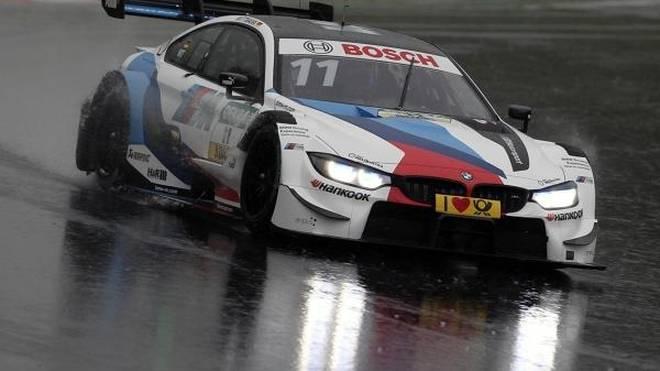 Marco Wittmann kämpfte beim DTM-Test in Vallelunga mit den Bedingungen