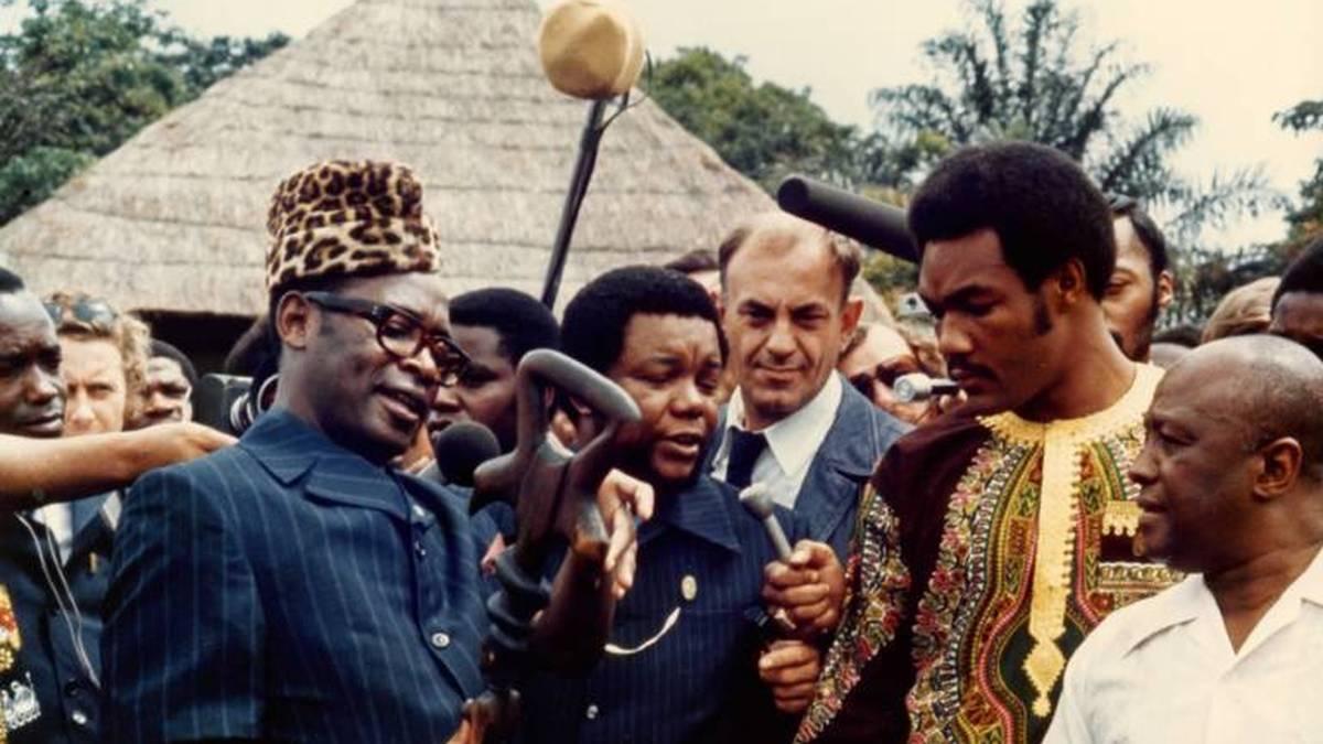 "Mobutu Sese Seko schmückte sich als Diktator von Zaire mit dem ""Rumble in the Jungle"""