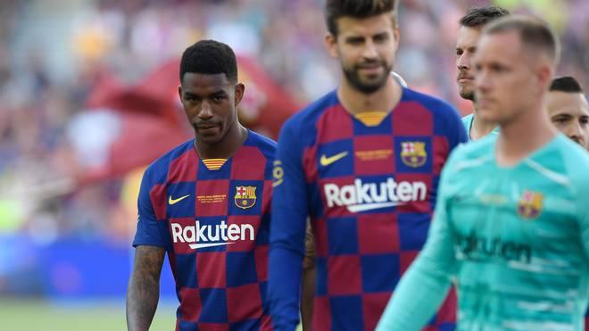 Junior Firpo, Neuzugang vom FC Barcelona