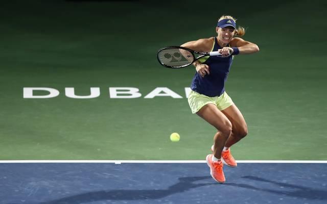 Angelique Kerber erreicht in Dubai locker das Viertelfinale