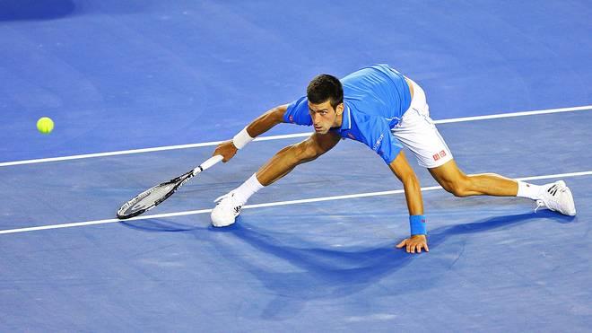 Novak Djokovic kämpfte im Finale der Australian Open gegen Andy Murray mit körperlichen Problemen
