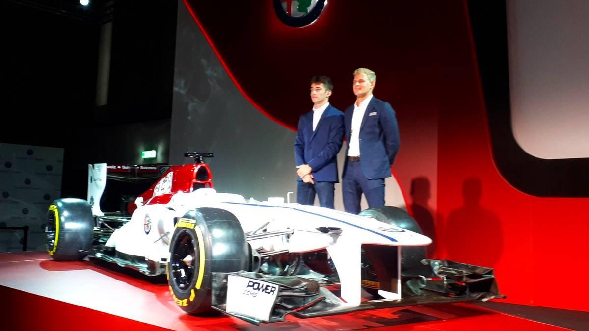 Charles Leclerc und Marcus Ericsson