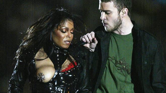 Unfreiwillig entblößte Janet Jackson 2004 eine Brust