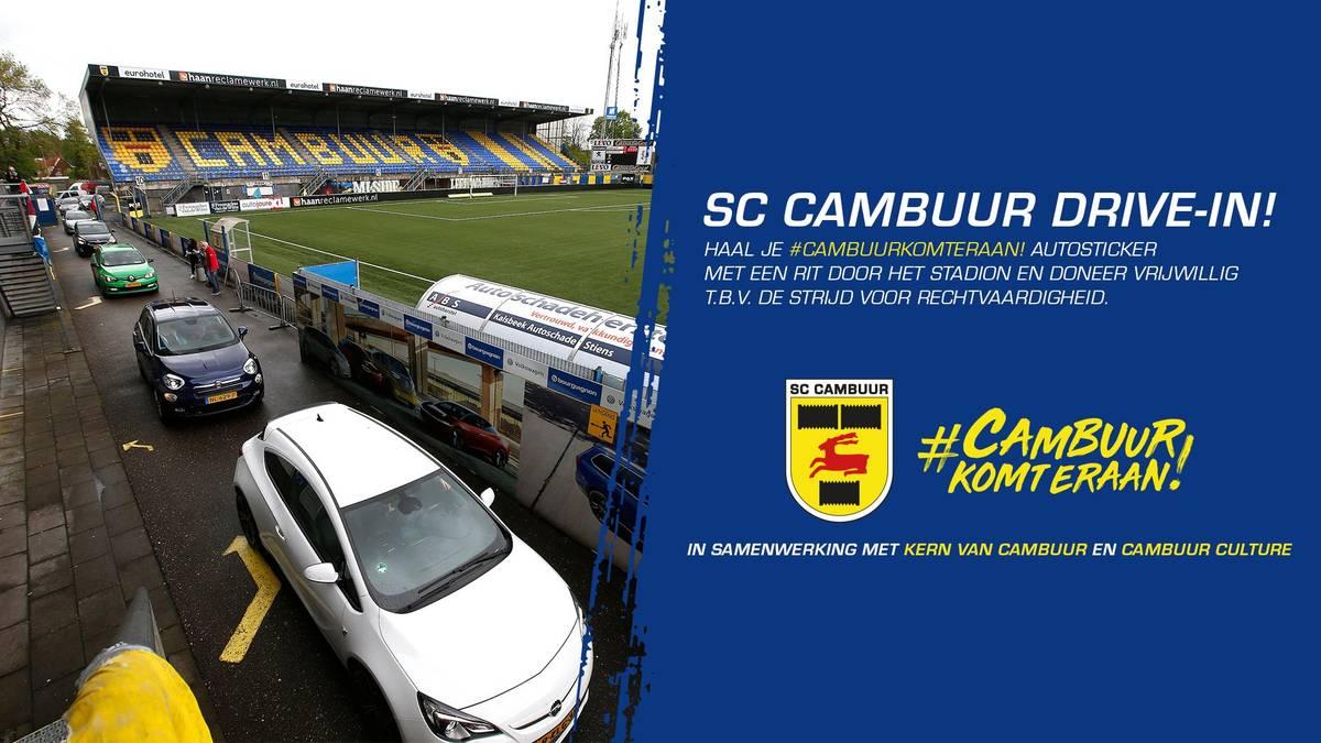 Deshalb fahren Autos durch ein niederländisches Stadion