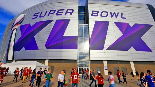 Im University of Phoenix Stadium steigt der Super Bowl XLIX